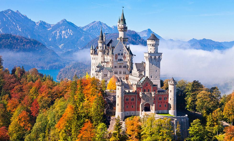 Lâu đài được viếng thăm nhiều nhất Châu Âu